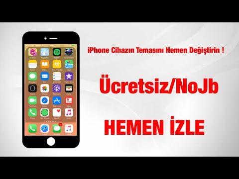 iphone 6s Plus jailbreaksiz tema yükleme
