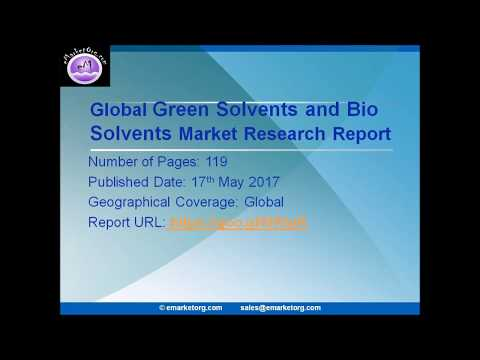 Green Solvents and Bio Solvents Market Overview 2017 - Company Basic Information