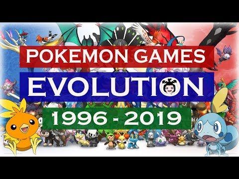POKEMON GAMES EVOLUTION (1996 - 2019)