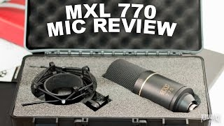 MXL-770 Condenser Mic Review / Test