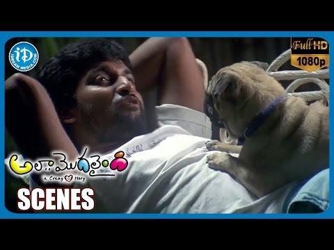 Ala Modalaindi Movie Scenes | Nani Funny Talks With His Pet Dog | Nithya Menon | Sneha Ullal