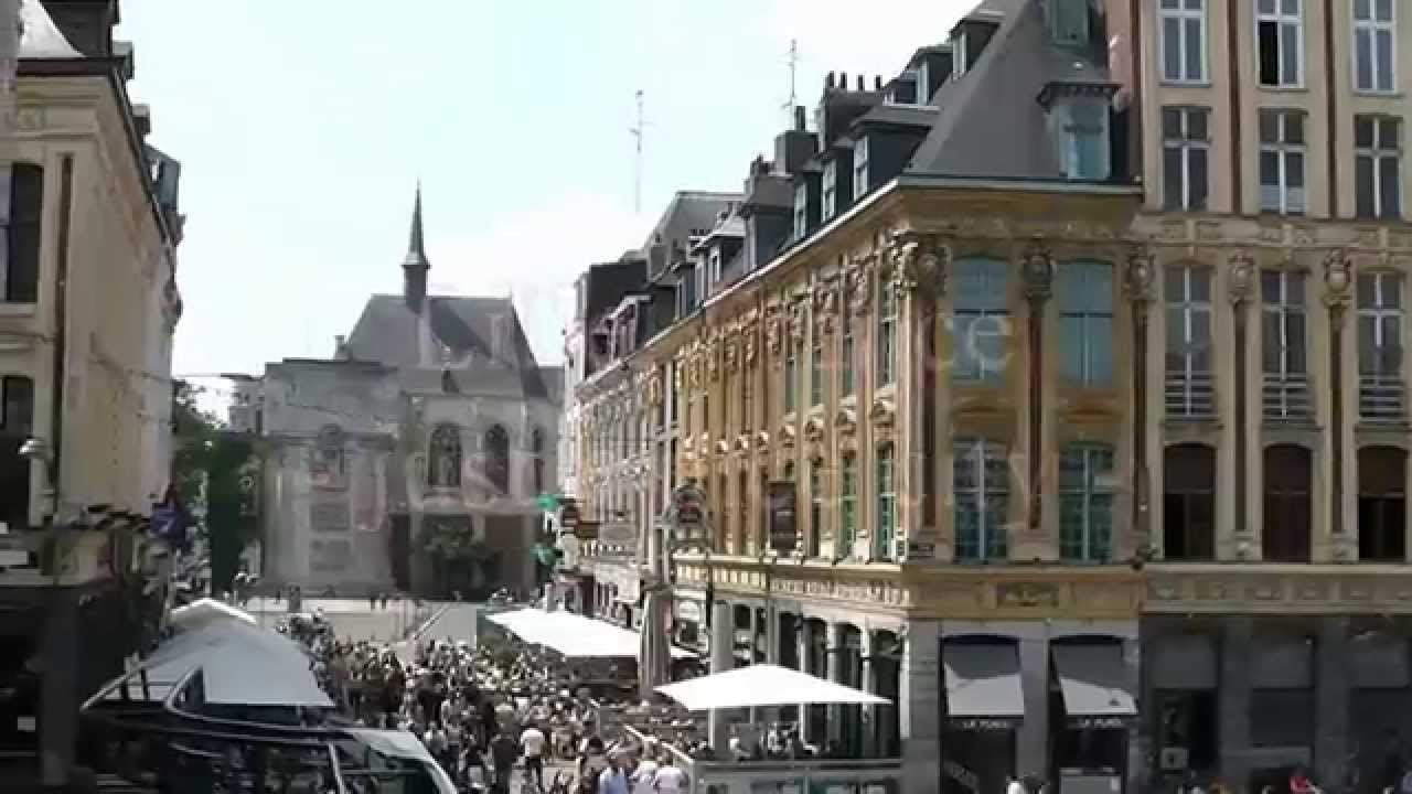 lille france a beautiful city youtube. Black Bedroom Furniture Sets. Home Design Ideas