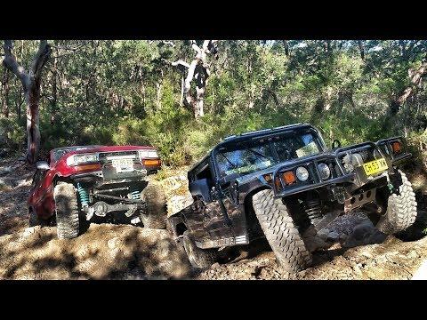 Treps vs Nittos 4x4 Menai - Landcruiser vs Hummer