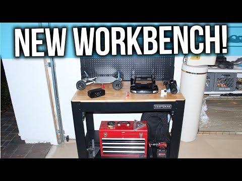 Craftsman folding workbench plans