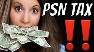 PS4 WARNING PSN Charges Sales TAX - What States Don