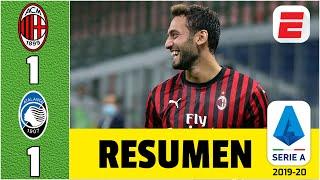 AC Milan vs Atalanta RESUMEN Serie A | GOLAZO de Calhanoglu y los de Bérgamo se alejan del título