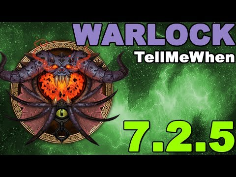 Warlock TMW Profile for Patch 7 2 5 w/Download