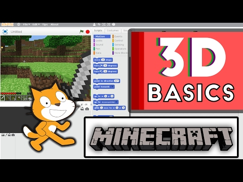 Scratch Tutorial: How to create 3D Minecraft!