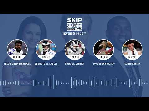 UNDISPUTED Audio Podcast (11.16.17) with Skip Bayless, Shannon Sharpe, Joy Taylor | UNDISPUTED