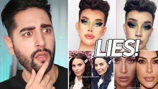 Instagram VS Reality - Beauty Guru / Influencer Lies And Editing / Facetune Fails  ✖  James Welsh