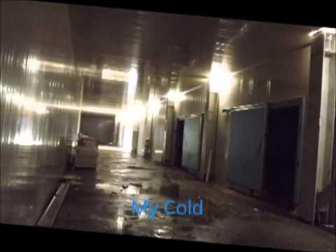видео: Промышленное холодильное оборудование