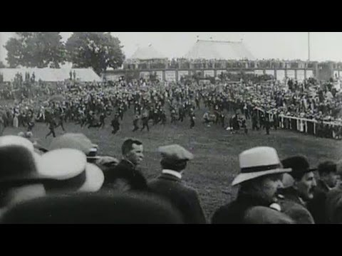 The Derby (1913) - Emily Davison trampled by King's horse | BFI National Archive