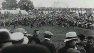 The Derby (1913) - Emily Davison trampled by King