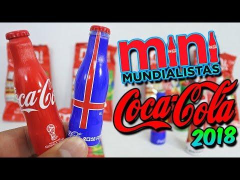MINI MUNDIALISTAS COCA COLA RUSIA 2018 - MINI BOTELLAS