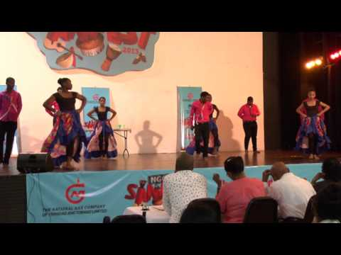 NGC Sanfest Secondary Schools Dance Finals Pt #1. Oct. 31, 2013.  Trinidad & Tobago