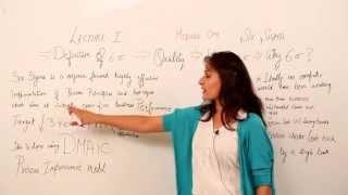 SIX SIGMA VIDEO LECTURE I LEAN SIX SIGMA I JSIXSIGMA.COM