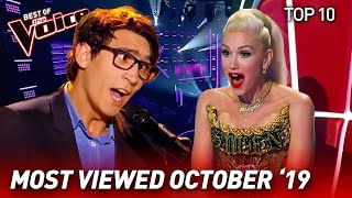 Download TOP 10 | The Voice: TRENDING IN OCTOBER '19 Mp3 and Videos