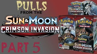 BOOSTER BOX OPENING - Pulls From The Crimson Invasion 5