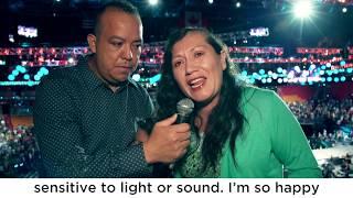 Ella testifica que Dios la sanó de un Sangrado Cerebral | Guillermo Maldonado