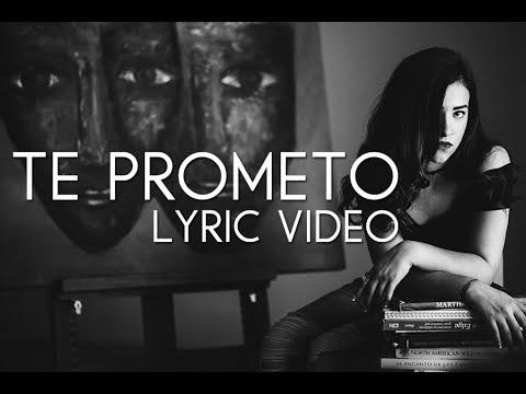 Te Prometo (Lyric Video) - Natalia Aguilar