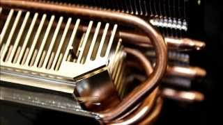 scythe Shuriken Rev B HTPC CPU Cooler Unboxing, Review and Close ups