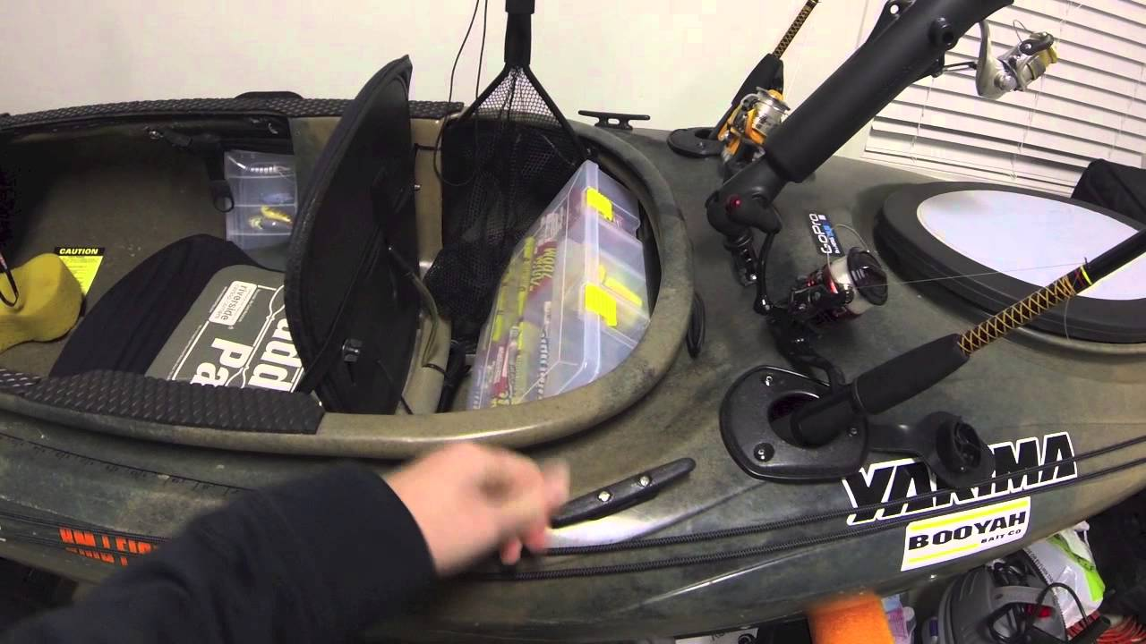 Sit In Kayak Fishing Setup