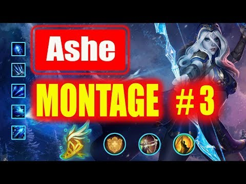Ashe Montage 3 |  Best Ashe Plays 2018 |  League Of Legends