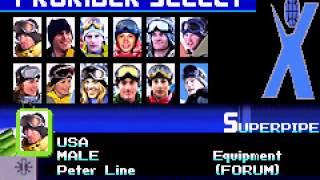[Game Boy Advance] ESPN Winter X-Games Snowboarding 2002 - Version Japon
