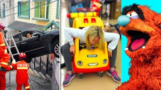 PEOPLE That Got STUCK In WEIRD Places (FUNNY!)