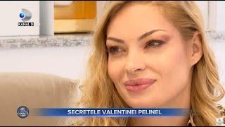 Stirile Kanal D (12.11.) - Valentina Pelinel, secrete despre familie si frumusete! | Editie de pranz