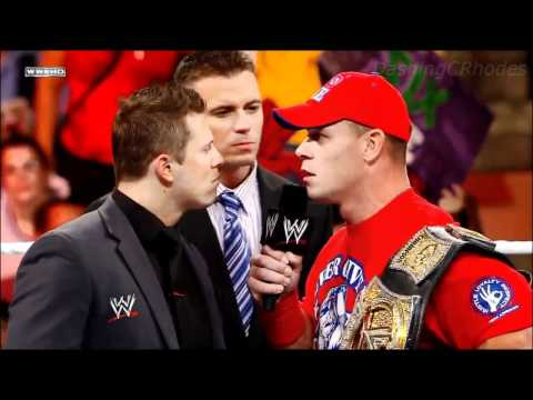 WWE Over The Limit 2011 John Cena vs The Miz