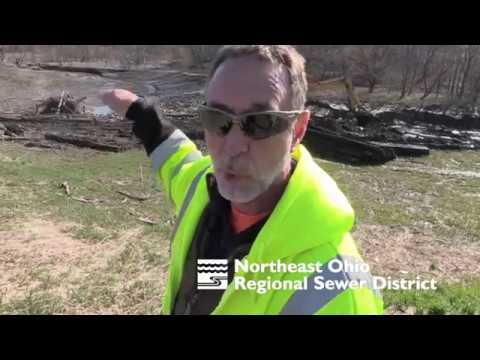Mark explains dredging, dam maintenance