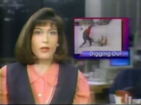 WIXT Channel 9 News - Blizzard Of 93 - Syracuse NY - 3/14/93