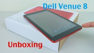 Dell Venue 8 Android Tablet Unboxing and Setup