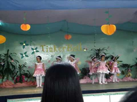 Tinkerbell musical play by the Sta. Isabel International Scholl pre-school department