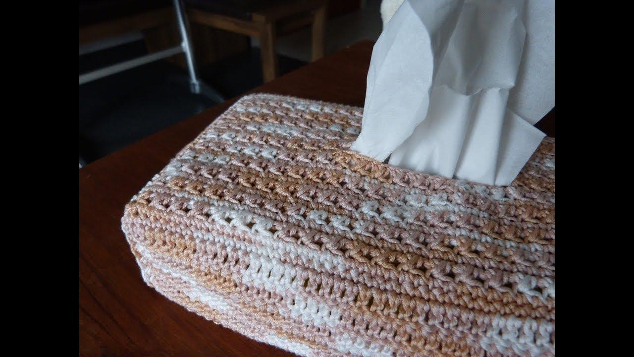 j avais envie de housse au crochet pour bo te mouchoirs youtube. Black Bedroom Furniture Sets. Home Design Ideas