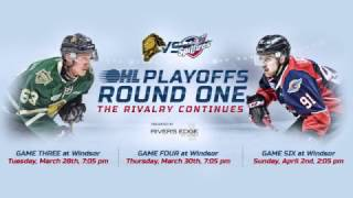 OHL Playoffs Round One: Windsor vs London, The Rivalry Continues