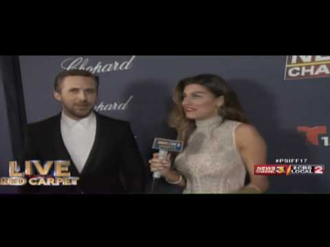 Video: Things got weird during Ryan Gosling's interview at the Palm