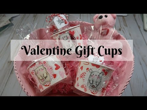Valentine Gift Cups - Process Video