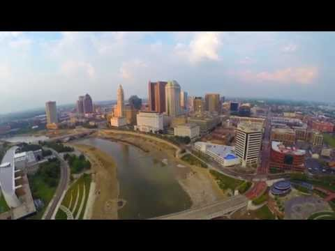 "DJI Aerial Drone Footage of Beautiful Columbus Ohio in HD ""Flight Ohio"""
