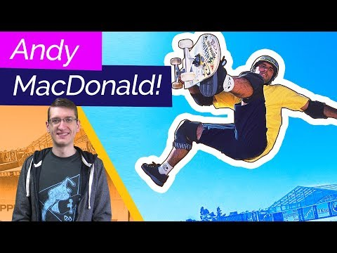 Andy MacDonald - the Mac Daddy! | Retro Rippers