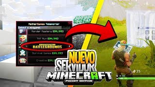 FORTNITE En Minecraft Pe 1.2 | Servidor Con Battle Royal | RAFFA