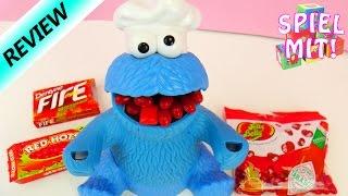 Extrem scharfe Süßigkeiten mit KRÜMELMONSTER testen - Jelly Beans Tabasco, Red Hots &Feuer Kaugummis