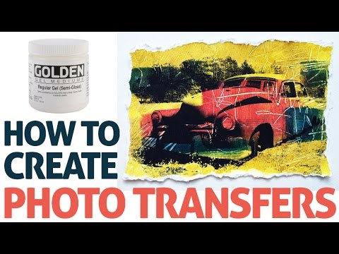Photo Transfer with Acrylic Gel Medium