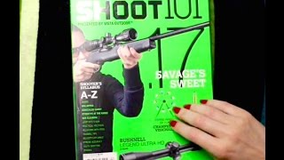 ASMR Gun Magazine Page Turning, Tapping, and Soft Speaking