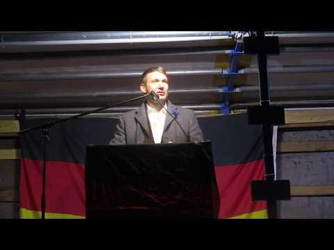 "André Poggenburg (AfD), Eberswalde 3.11.2018, ""Heimatliebe Brandenburg"""