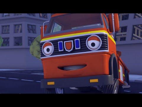 Олли Веселый грузовичок - Мультик про машинки - Прослушивание - Серия 58 (Full HD)
