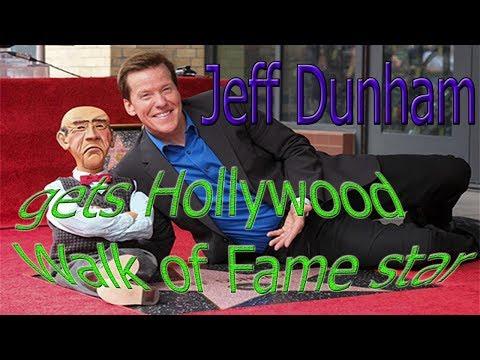 Jeff Dunham gets Hollywood Walk of Fame star.