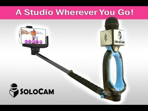 This selfie stick microphone will make reporters look dumb(er)