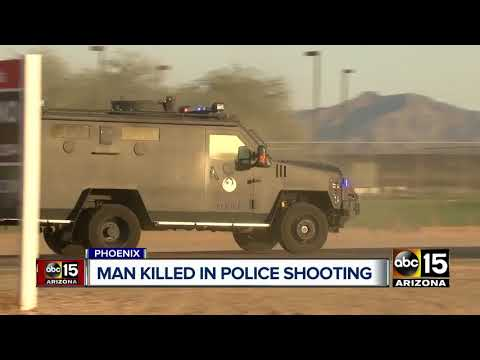 Suspect dies following shooting with Phoenix police